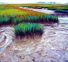 Cumberland Island Marsh by Cameron Hampton