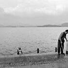 Writing your way around the lake - Hangzhou, China by Norman Repacholi