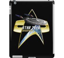 StarTrek Enterprise E Com badge iPad Case/Skin