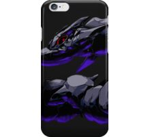 pokemon dark mega steelix anime manga shirt iPhone Case/Skin