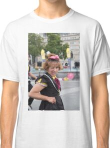 Witty Look perform in Trafalgar Square during the Buskin London Festival Classic T-Shirt