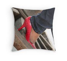 Come on Cowboy Throw Pillow