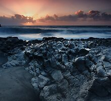 On the Lava Shore by Kasia-D