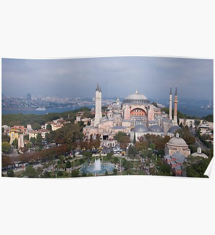 Mosque in Istanbul Poster