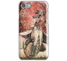 Beakyung the white viper - Jangan cave silkroad iPhone Case/Skin