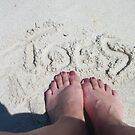 Toes in the Sand by Linda Bennett