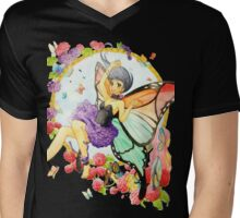 Butterfly Fairy Mens V-Neck T-Shirt