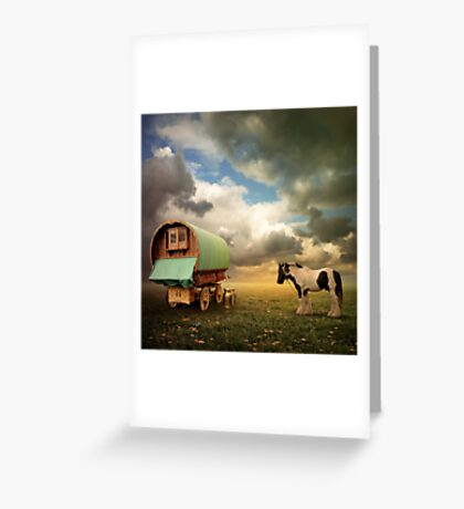 Gypsy Wagon Greeting Card