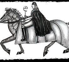 Knight horse by Jenny Wood