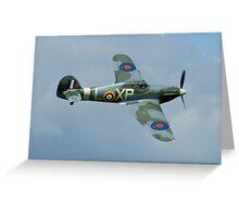 Hawker Hurricane MKIIB Greeting Card