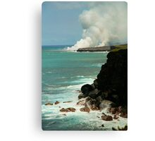 ~ walking pele Canvas Print