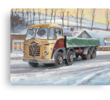 Foden S20 at the Jungle cafe Canvas Print