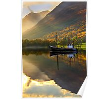 *Loch Lochy in Autumn, Highlands of Scotland.* Poster