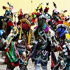 Mayan Festival Dancers by deserttrends