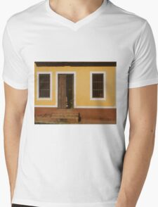 A house is made of walls and beams; a home is built with love Mens V-Neck T-Shirt
