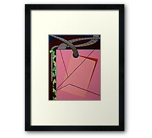History Lession Framed Print