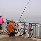 Morning fishing in Burgas by Valentina Walker