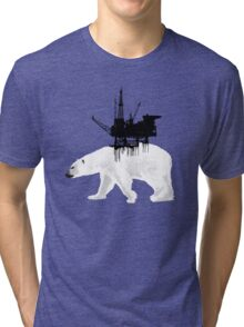 Save the Polar Bear Tri-blend T-Shirt