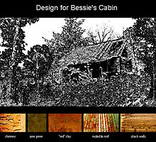 Design for Bessie Smith's Cabin by Cameron Hampton
