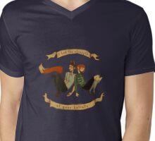 The Strength of Your Beliefs Mens V-Neck T-Shirt