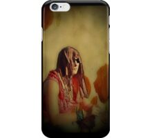 At peace with poppies iPhone Case/Skin