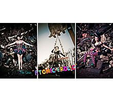 Atomic Frolic Triptych Photographic Print