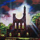 Byland Abbey by Martin Williamson (©cobbybrook)
