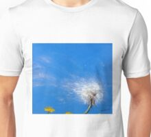 Diaspora - dandelion seeds in the wind Unisex T-Shirt