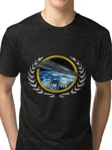 Star trek Federation of Planets Cerberus Tri-blend T-Shirt