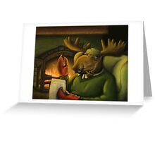 The Magnificient Mr. Mooseclaw Greeting Card