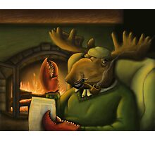 The Magnificient Mr. Mooseclaw Photographic Print