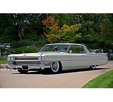 1963 Cadillac Coupe DeVille Photographic Print