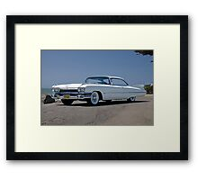 1959 Cadillac Coupe DeVille Framed Print