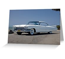 1959 Cadillac Coupe DeVille Greeting Card