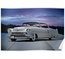 1955 Cadillac Coupe DeVille Poster