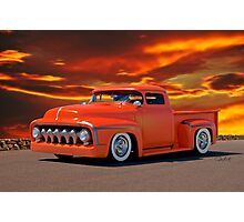 1956 Ford Custom Pickup Photographic Print