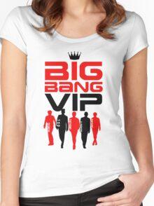 BIGBANG VIP Women's Fitted Scoop T-Shirt