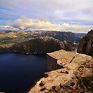 Preikestolen - Pulpit Rock, Norway by Dominic Kamp