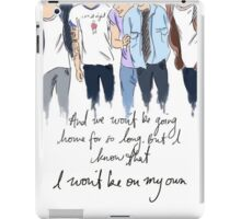 one direction  iPad Case/Skin