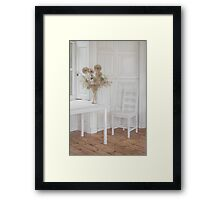 The White Room Framed Print