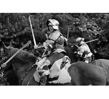 Mounted Combat Photographic Print