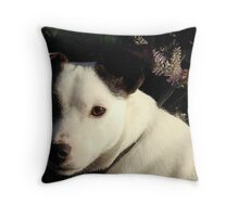 Wolfie Throw Pillow