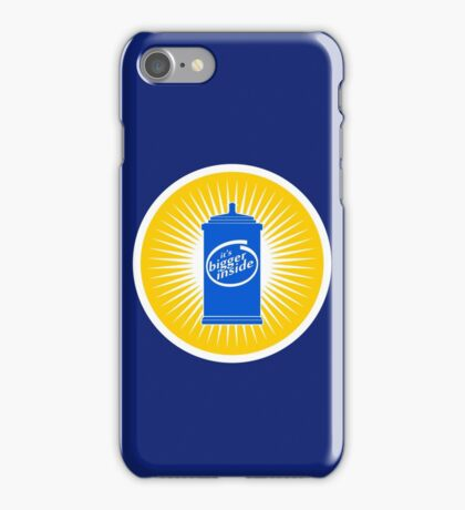 BIGGER INSIDE iPhone Case/Skin