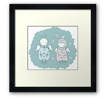 Angels in the Sky Framed Print