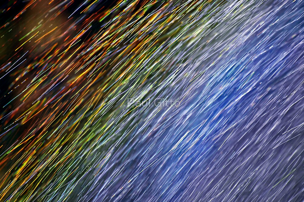 Rainbow - Up Close and Personal by Paul Gitto