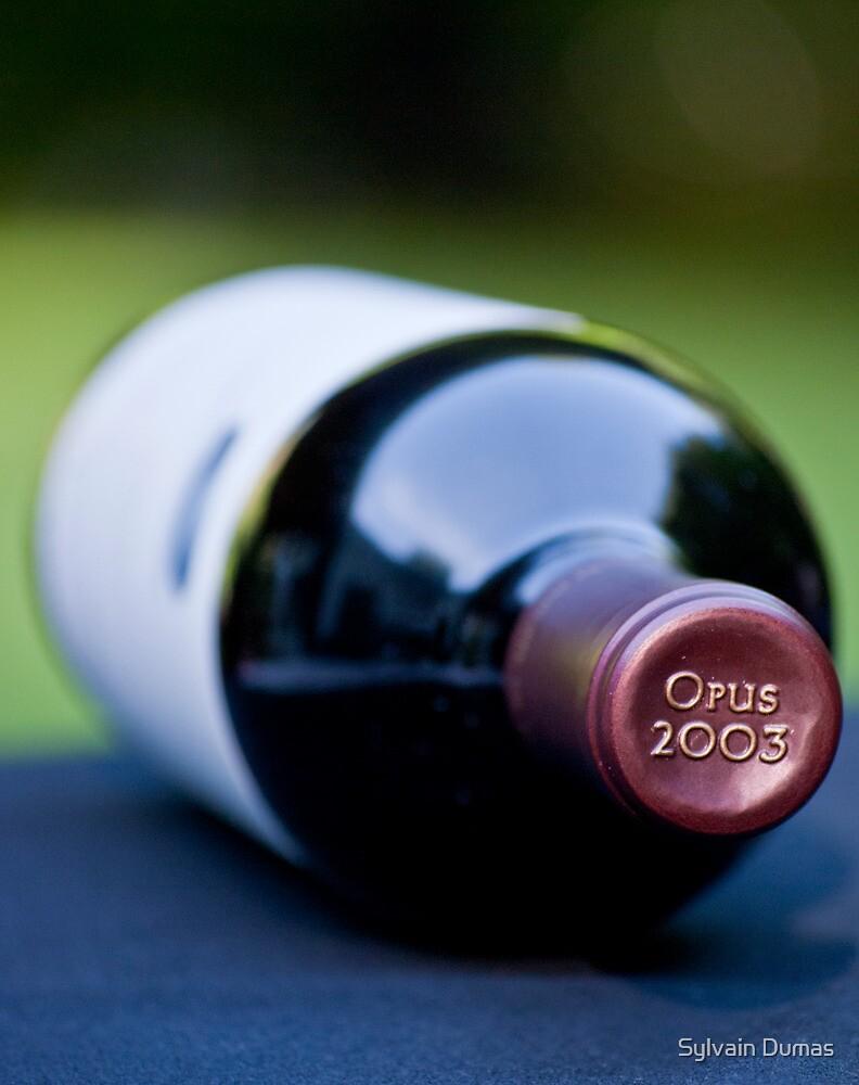 Opus One 2003 by Sylvain Dumas