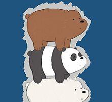 We Bare Bears Bearstack by Infernoman