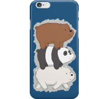 We Bare Bears Bearstack iPhone Case/Skin