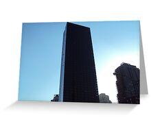 skyscraper 1 Greeting Card
