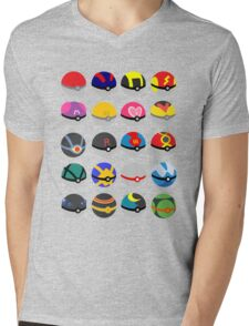 CATCH THEM ALL Mens V-Neck T-Shirt